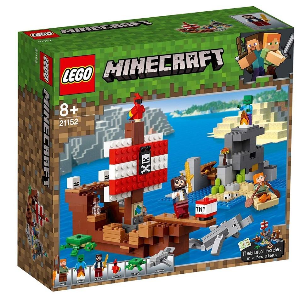 Minecraft Pirate Lego Ship