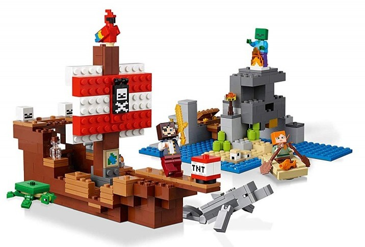 Lego Minecraft Pirateship