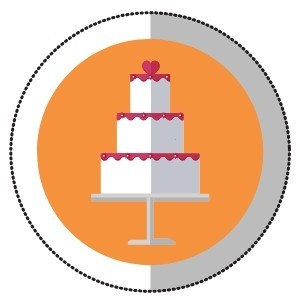 When to order the wedding cake