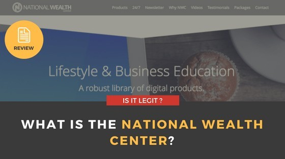 What is the National Wealth Center?