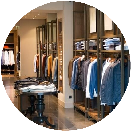 Your website is similar to a local clothing store