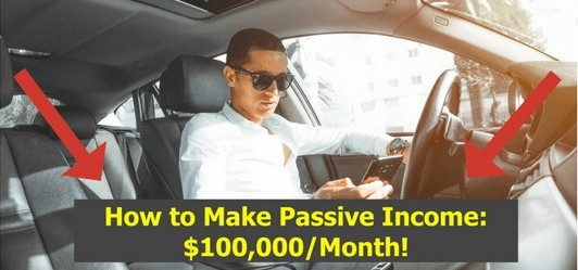 Example of 'How to Make Passive Income' offers.