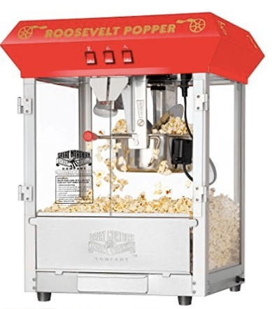 You should consider products with better margins, like this popcorn machine
