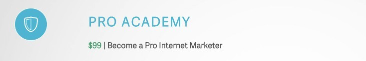 Pro Academy is Awol Academy's 1st Module