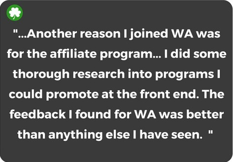 Why join Wealthy Affiliate's affiliate program?