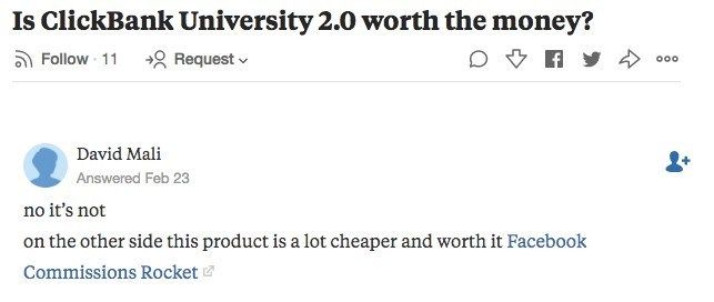 Suspicious answer on Quora