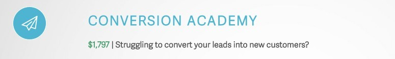 Conversion Academy is Awol Academy's 4th Module