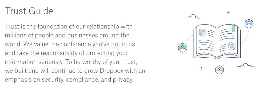 Dropbox's Trust Guide