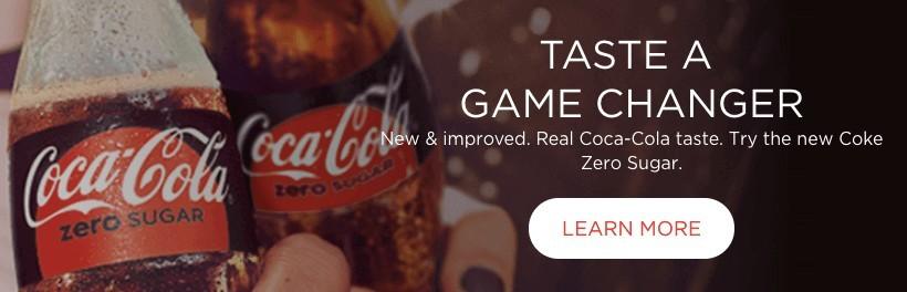 Coca Cola's CTA