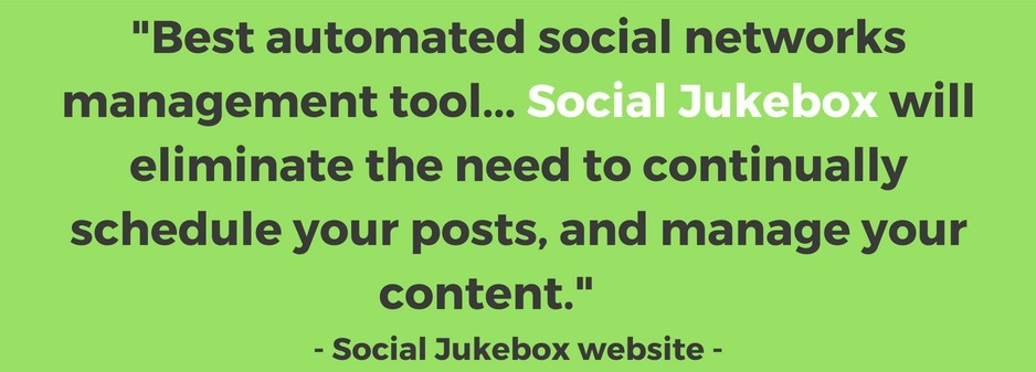 What is Social Jukebox according to their website