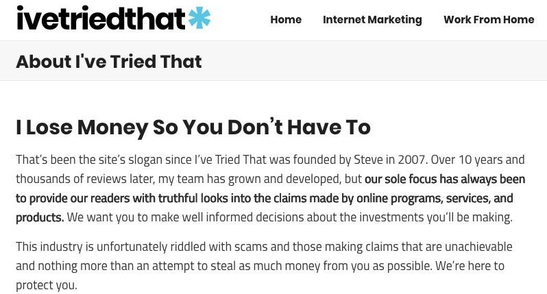 #3 of a Successful Affiliate Marketing website
