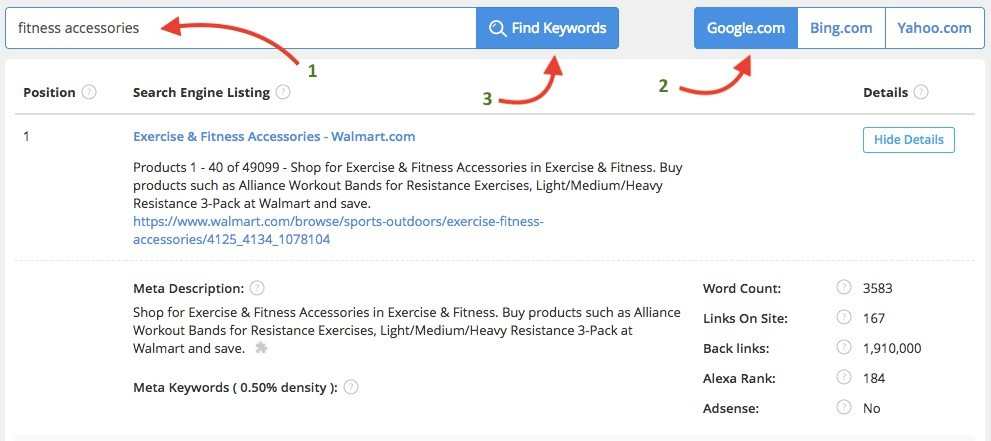 Jaaxy Keyword Research Tool | Search Analysis