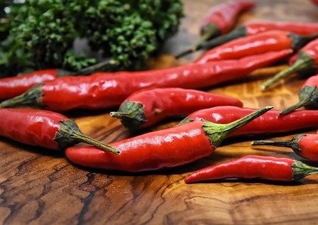 The more you consume spicy chili, the more endorphins are likely to be.