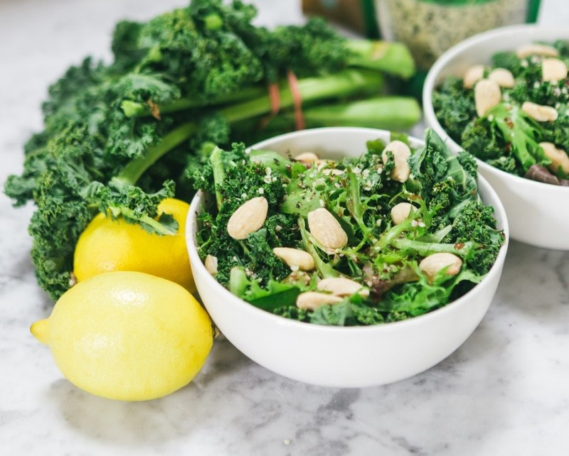 Green Leafy Vegetables The most common examples of these are kale, spinach, and chard. These foods contain Vitamin A, which stimulates the turnover of skin cells. It denotes that your skin renews itself and appears glowing and fresh. Best diet for skin