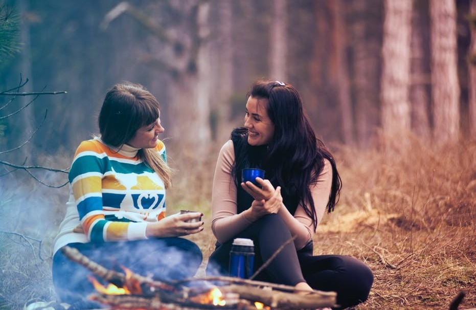 Camping allows family members to bond and become closer aswe sit by the campfire, lake, or spend hours of fishing