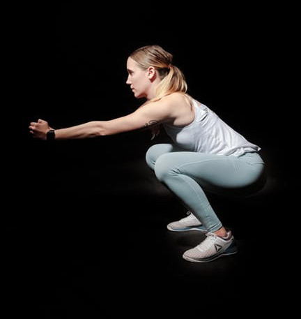 Squat movements is useful for building muscle throughout the body. age-related muscle loss
