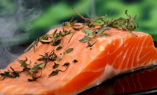 Salmon, can prevent or at least reduce inflammation thanks to the high content of omega-3 fatty acids.