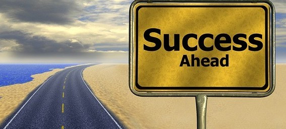 Affirmation that success is ahead