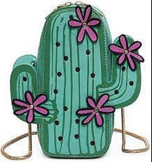 What Purses Are In Style 2021: Novelty Purse Example: Cactus Purse