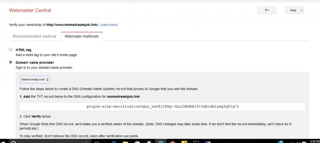 how to add google search option in my website