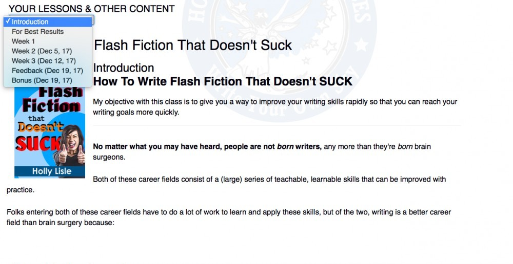 Flash Fiction Format