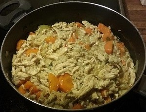 Chicken Stew with Carrot