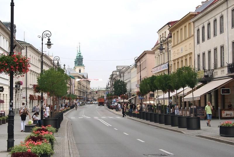 Nowy Swiat Street Warsaw