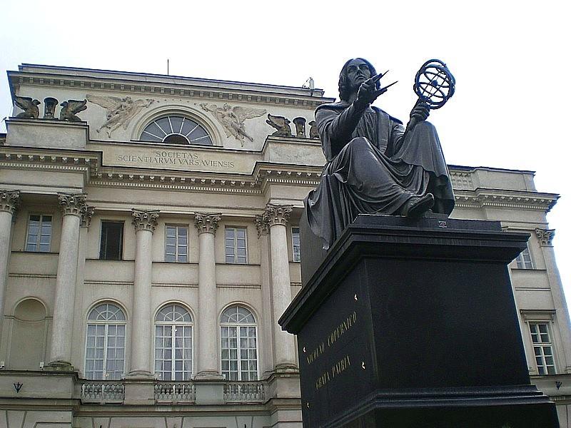 Copernicus Statue Warsaw