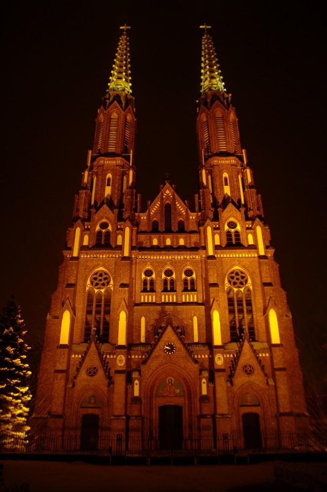 Cathedral Florian Praga Warsaw