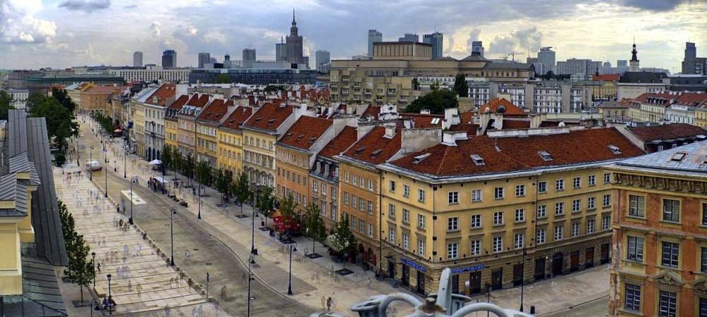 Krakowskie Przedmiescie Warsaw