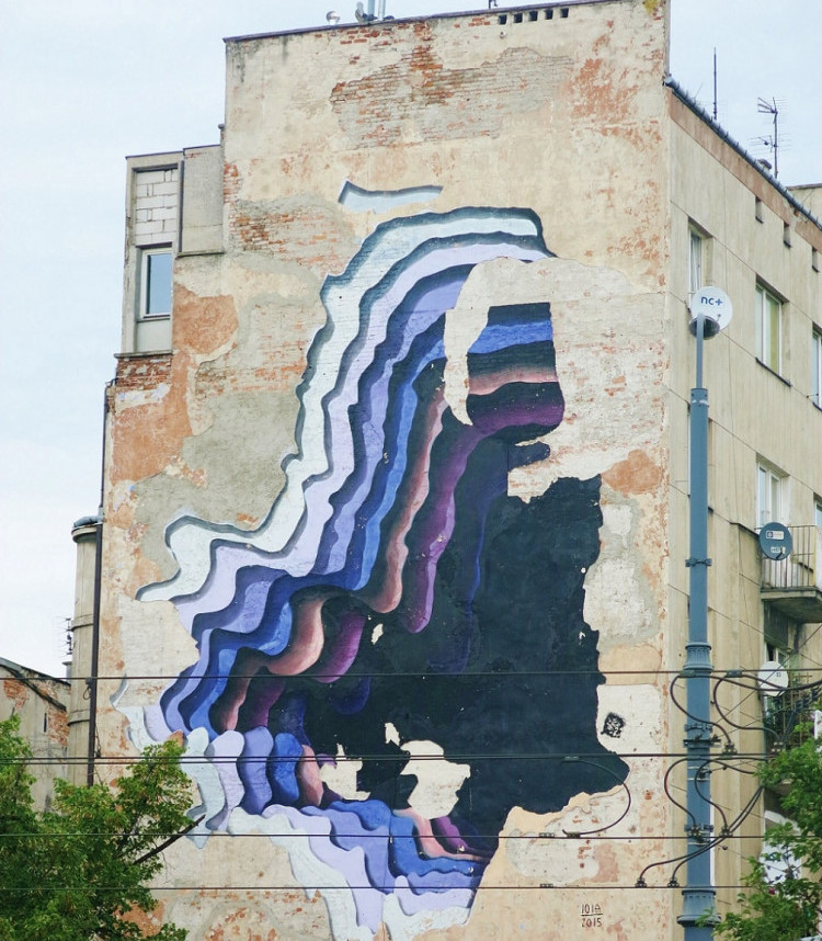 Praga Warsaw Street Art