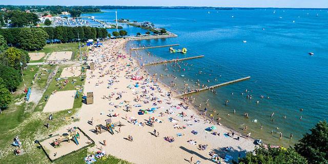 Giżycko Beach Poland