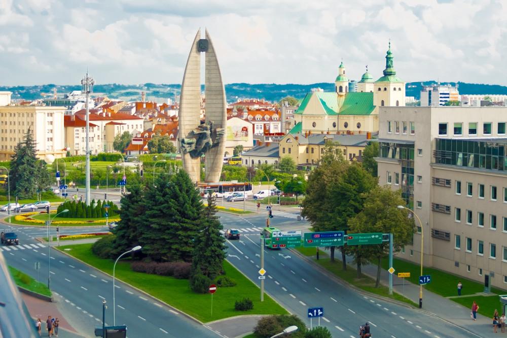 Revolutionary Act Monument Rzeszów