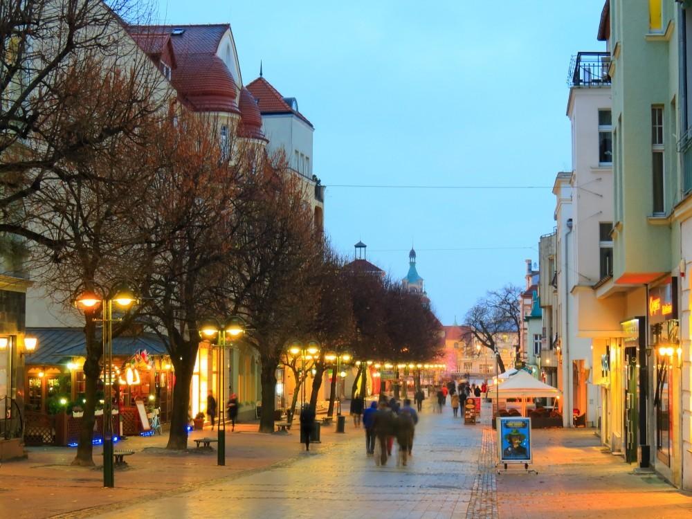 Sopot Monte Cassino street