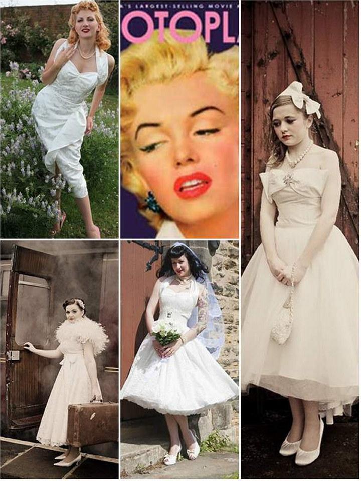 Style Guide 1950s Vintage The Wedding Secret Magazine