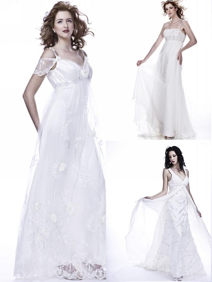 Featured wedding dress designer sarah houston the for Amazon designer wedding dresses