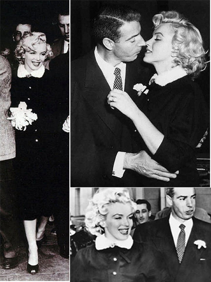 Iconic Wedding Dresses of Marilyn Monroe