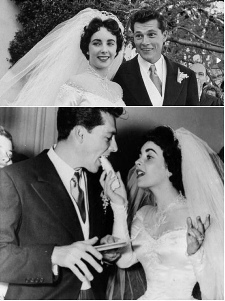 Elizabeth Tayloru0027s First Wedding Dress