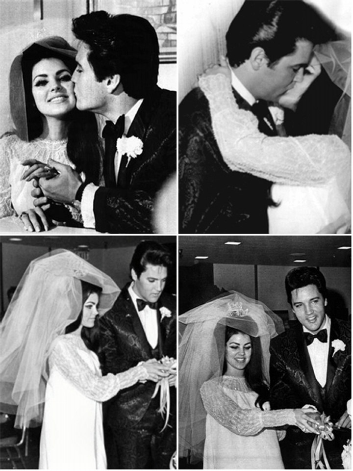 Iconic Wedding Dresses: Priscilla Presley