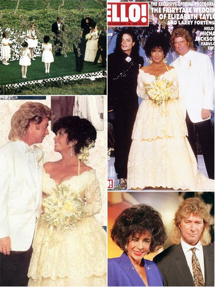 Elizabeth Taylor Wedding Dress