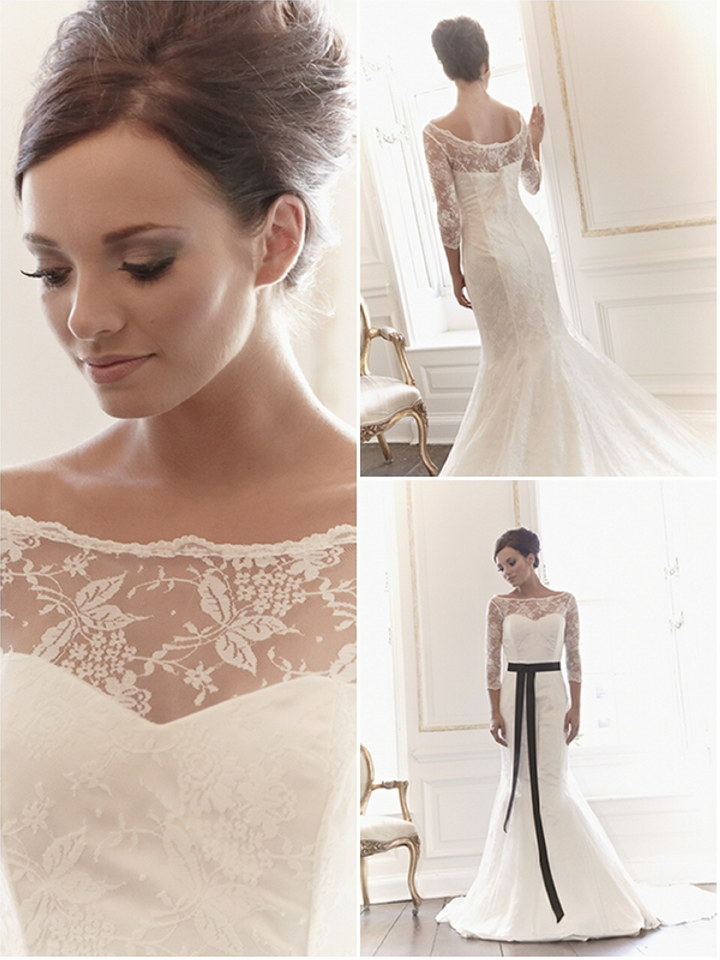 Featured Wedding Dress Designer : Claire Mischevani | The Wedding ...