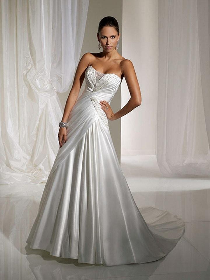Featured dress designer sophia tolli the wedding for Amazon designer wedding dresses