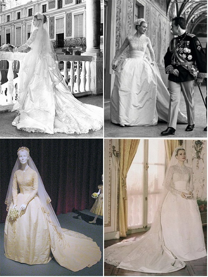Iconic wedding dresses : Grace Kelly | The Wedding Secret Magazine
