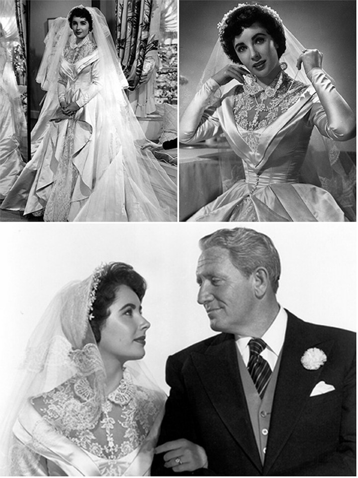 Iconic Wedding Dresses In Film: The Father of the Bride