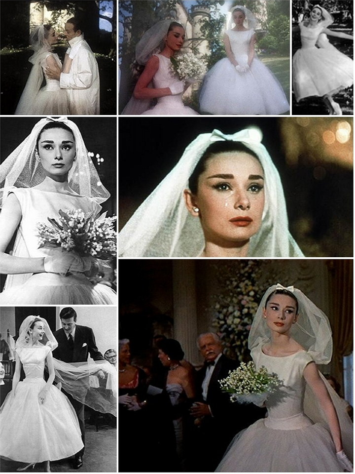 Iconic wedding dresses from the movies 39 funny face for Funny face wedding dress