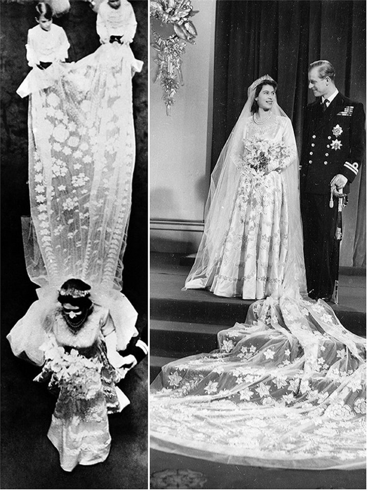 Royal Wedding Dresses Queen Elizabeth Ii The Wedding