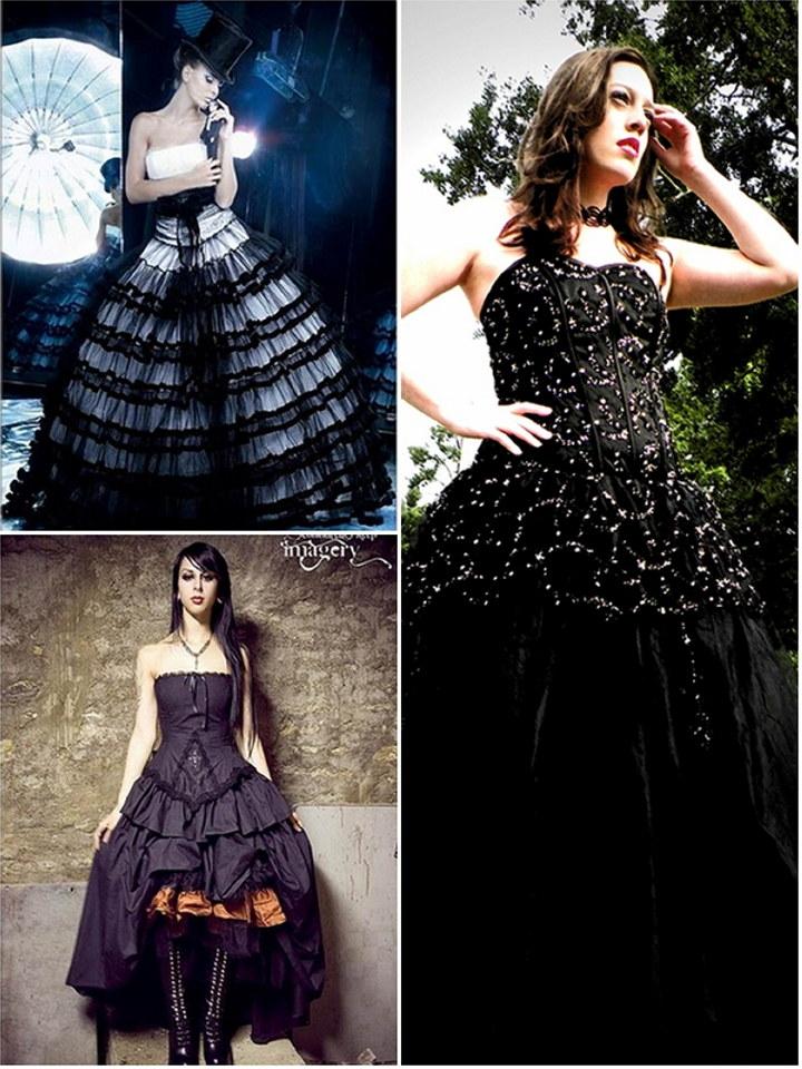 Wedding Dress Secret Style Guide : Gothic Wedding Dresses ...