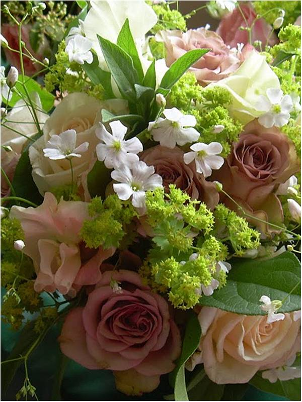 English country garden wedding flowers from The Walled Garden At ...