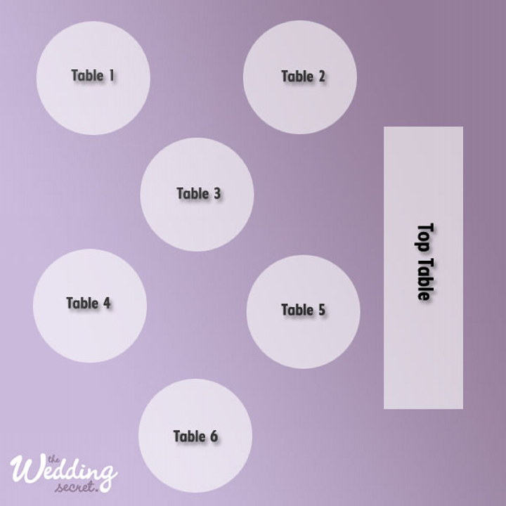 Wedding Table Plan How To Manage Your Wedding Seating Layout The