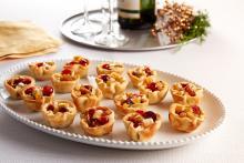 Wewalka - Cheese & Chutney Canapés